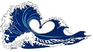 love wave japanese esqu